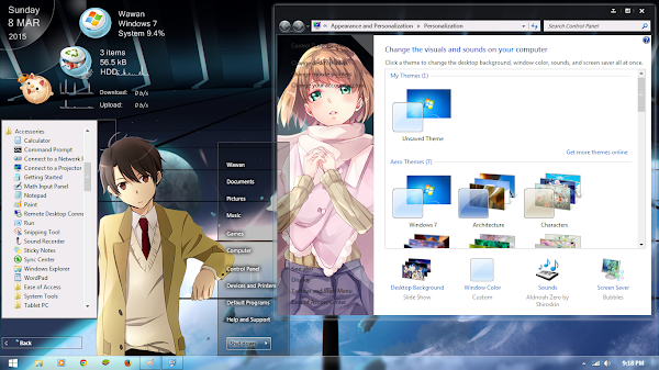[Theme Win 7 ]Aldnoah.Zero by Shiroskin 4