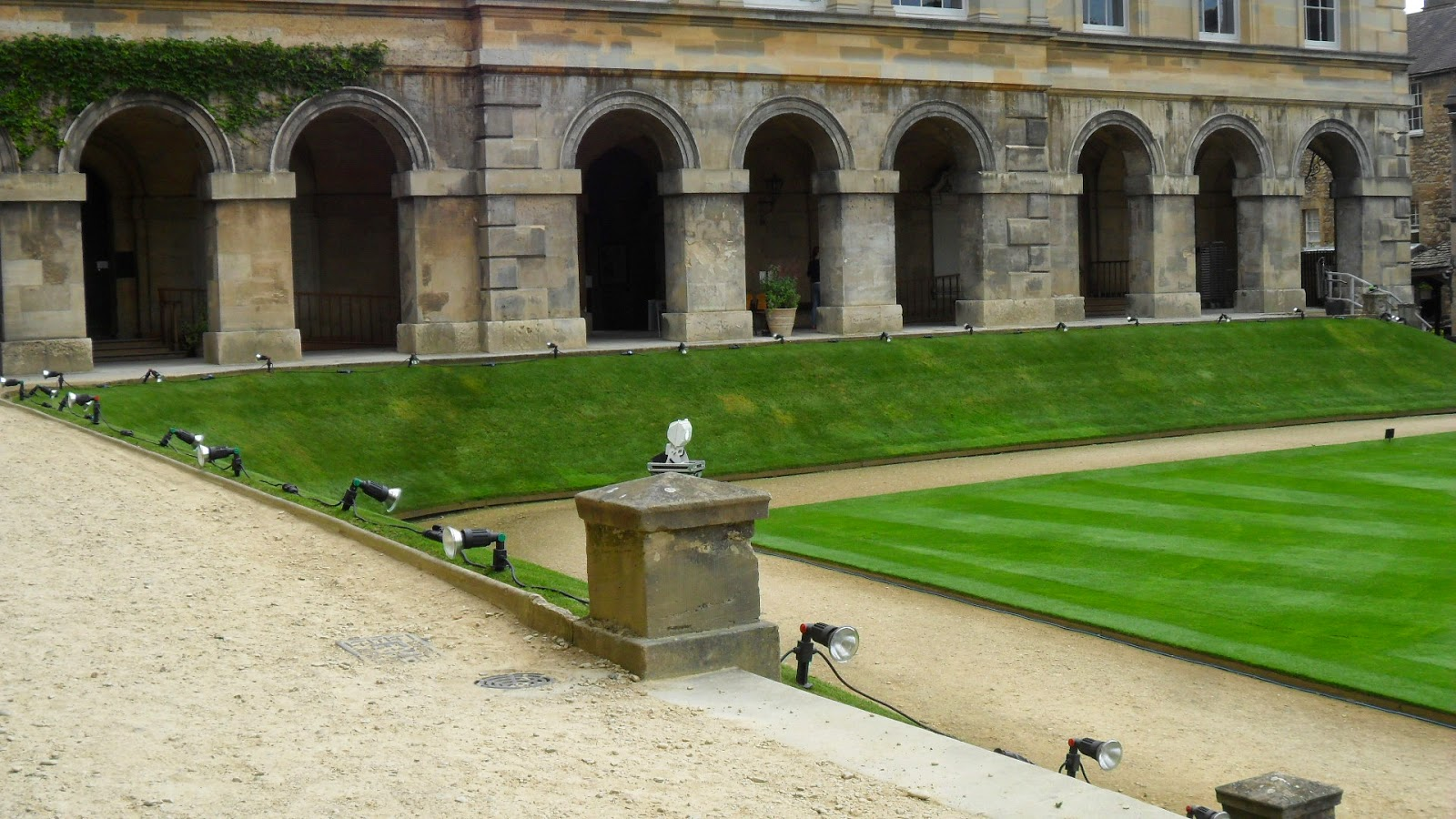 Worcester College Gardeners Preparations Begin For The