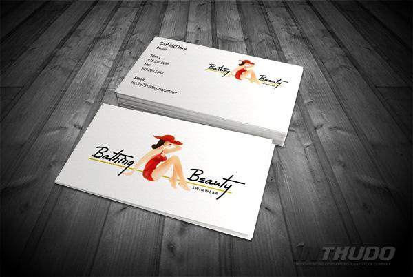 mẫu card visit thời trang 5
