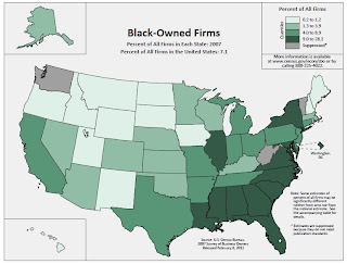 Map of Black Owned Businesses