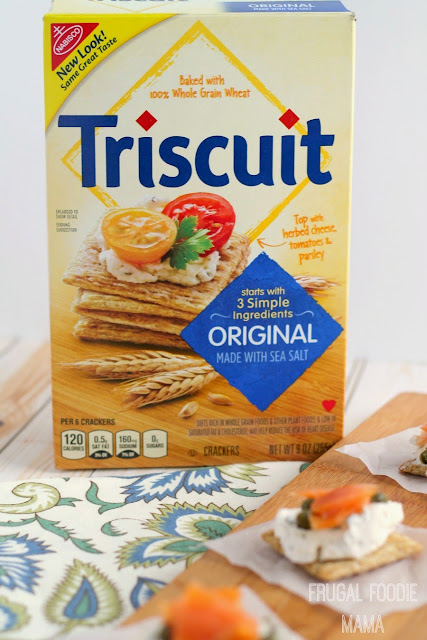 Triscuit crackers provide the perfect base for all your delicious recipe creations.  What you can create with them is completely up to you, and the tasty possibilities are pretty much endless! #ad