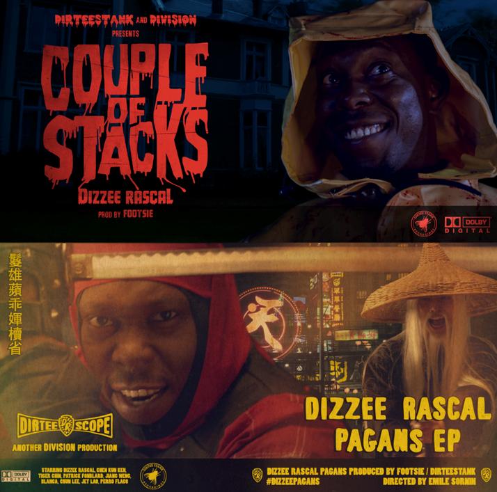 Dizzee Rascal new E.P. Pagans