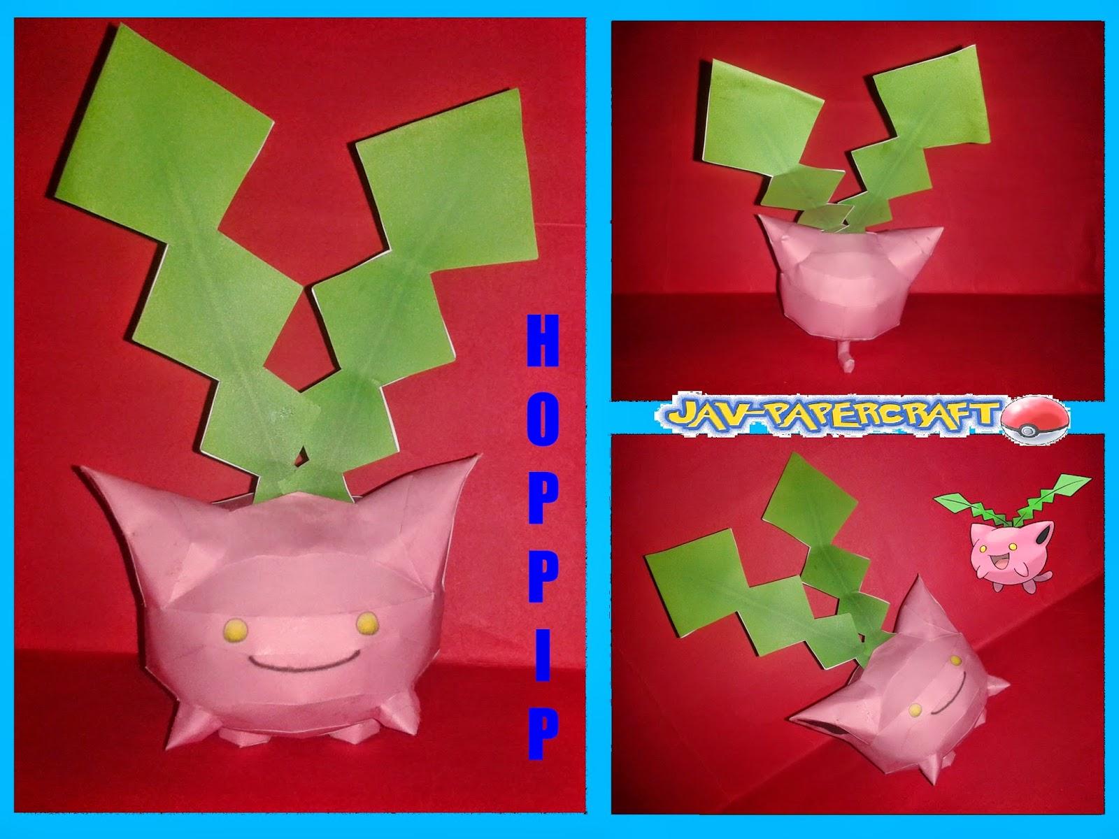 Hoppip Paper Model