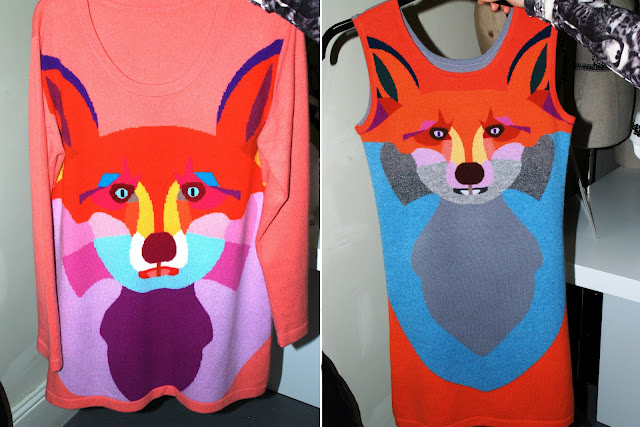 yang du knit fox