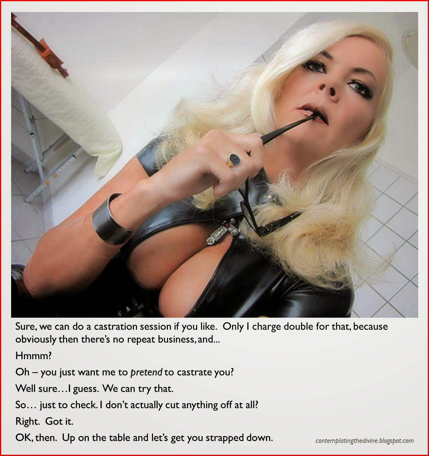 Pretend castration