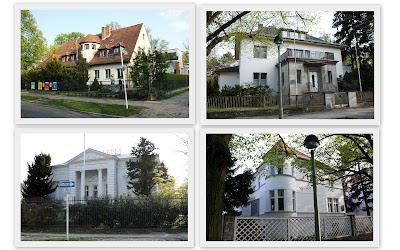 Majakowskiring DDR villas GDR