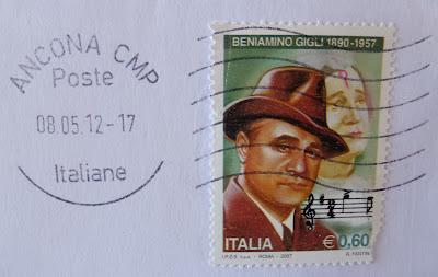 Beniamino Gigli francobollo € 0,60
