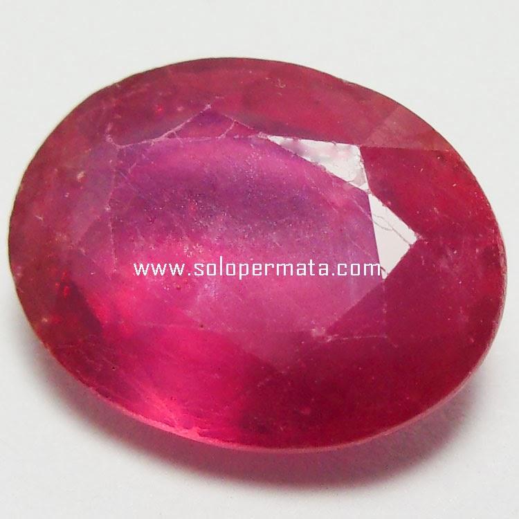 Batu Permata Pink Sapphire - 24A02