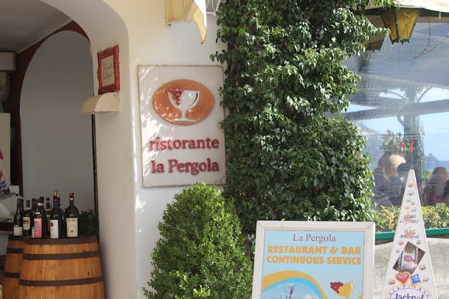 Ristorante La Pergola, Positano, Italy