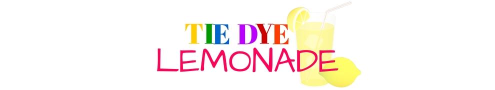 Tie Dye Lemonade