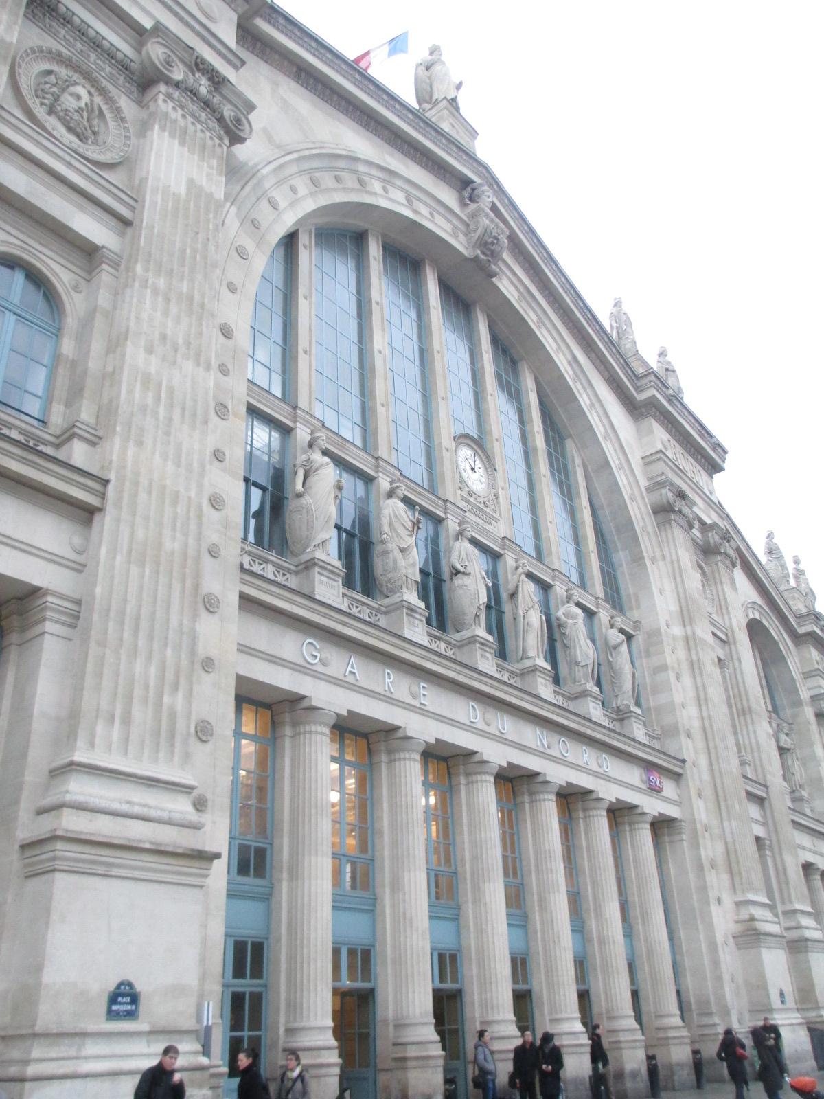 Dressing up in paris week 3 gare du nord for Gare du nord paris