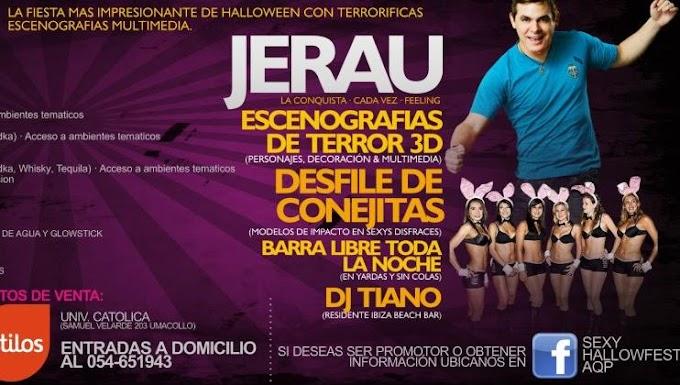 SEXYHALLO FEST - Fiesta de disfraces más sexy de Arequipa (31oct)