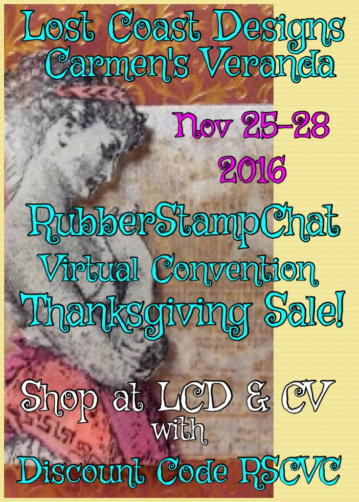 Thanksgiving Sale - RubberStampChat Virtual Convention Special