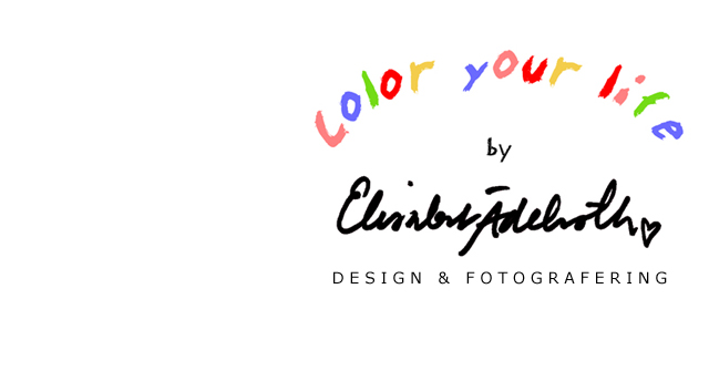 Color your life by Elisabet Ädelroth