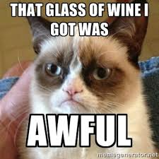 Grumpy Cat wine meme - www.blancdeblancs.fi