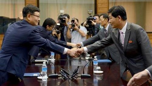Hội đàm 2 miền liên triều quyết định mở lại khu công nghiệp chung Kaesong