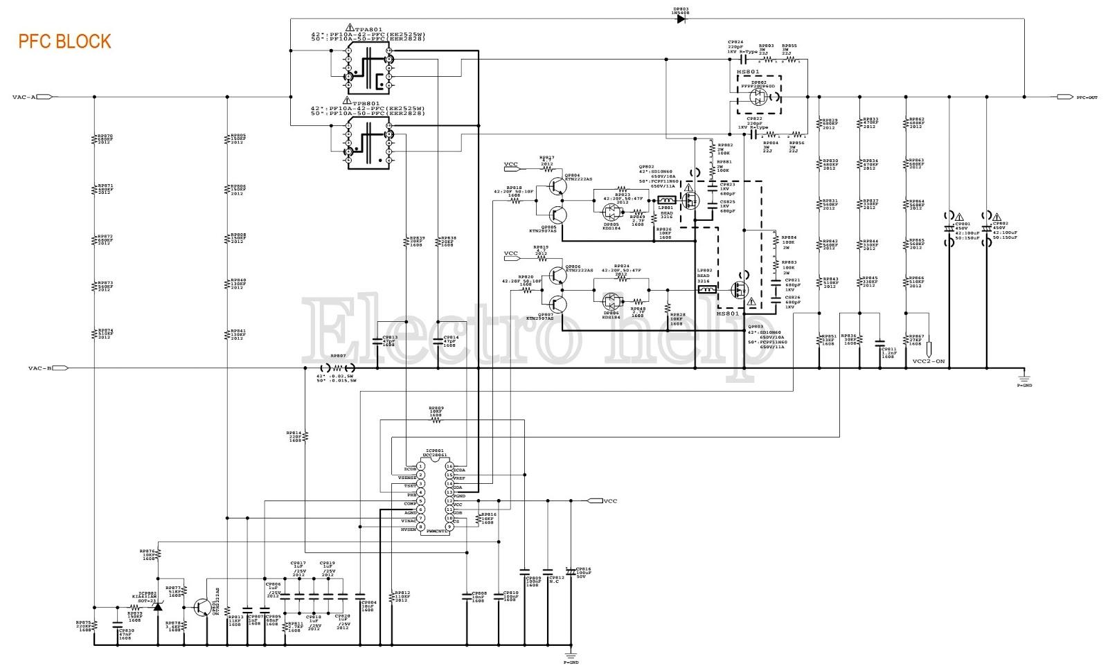 samsung bn44 00329a  u2013 lcd tv smps schematic