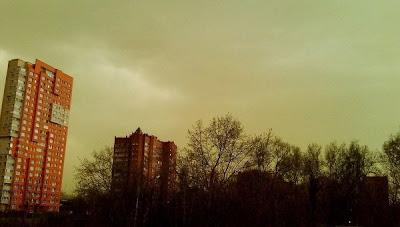 misterio de la nube verde en rusia