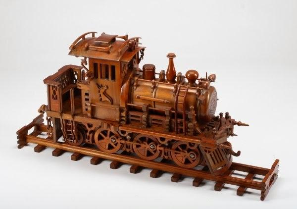 Model trains for beginners wooden model trains for Wooden locomotive plans
