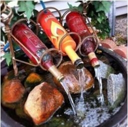 fuente de agua casera, una fuente de agua, una fuente de agua casera, como hacer una fuente de agua, pasos para hacer una fuente de agua, fuente de agua artesanal, una fuente de agua artesanal, hacer una fuente de agua, forma fácil de hacer una fuente de agua, como reciclar botellas de vidrio, como reciclar botes de vidrio, bricolaje con botellas de vidrio, bricolaje para decorar el patio, bricolaje para decorar el jardín, forma fácil de hacer una fuente de agua, fuente de agua fácil de hacer