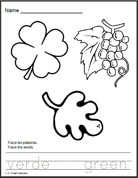 Number Names Worksheets : spanish worksheets free printable ~ Free ...