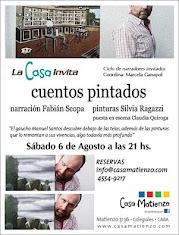 """LA CASA INVITA presenta a Fabián Scopa en """"CUENTOS PINTADOS"""""""