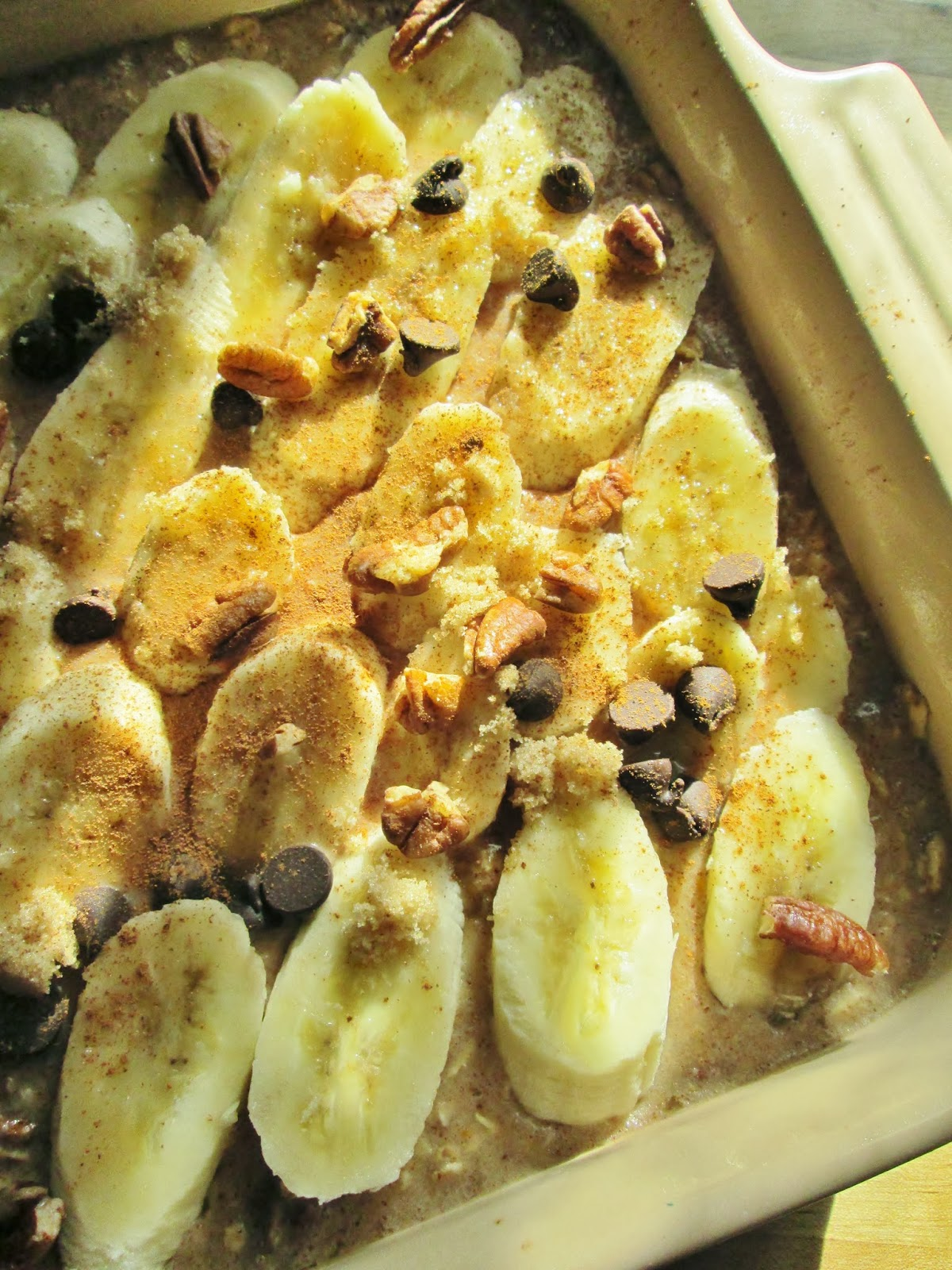 Squish Delish Recipes : Mama Nibbles: Baked Oatmeal Sunrise #WalmartProduce