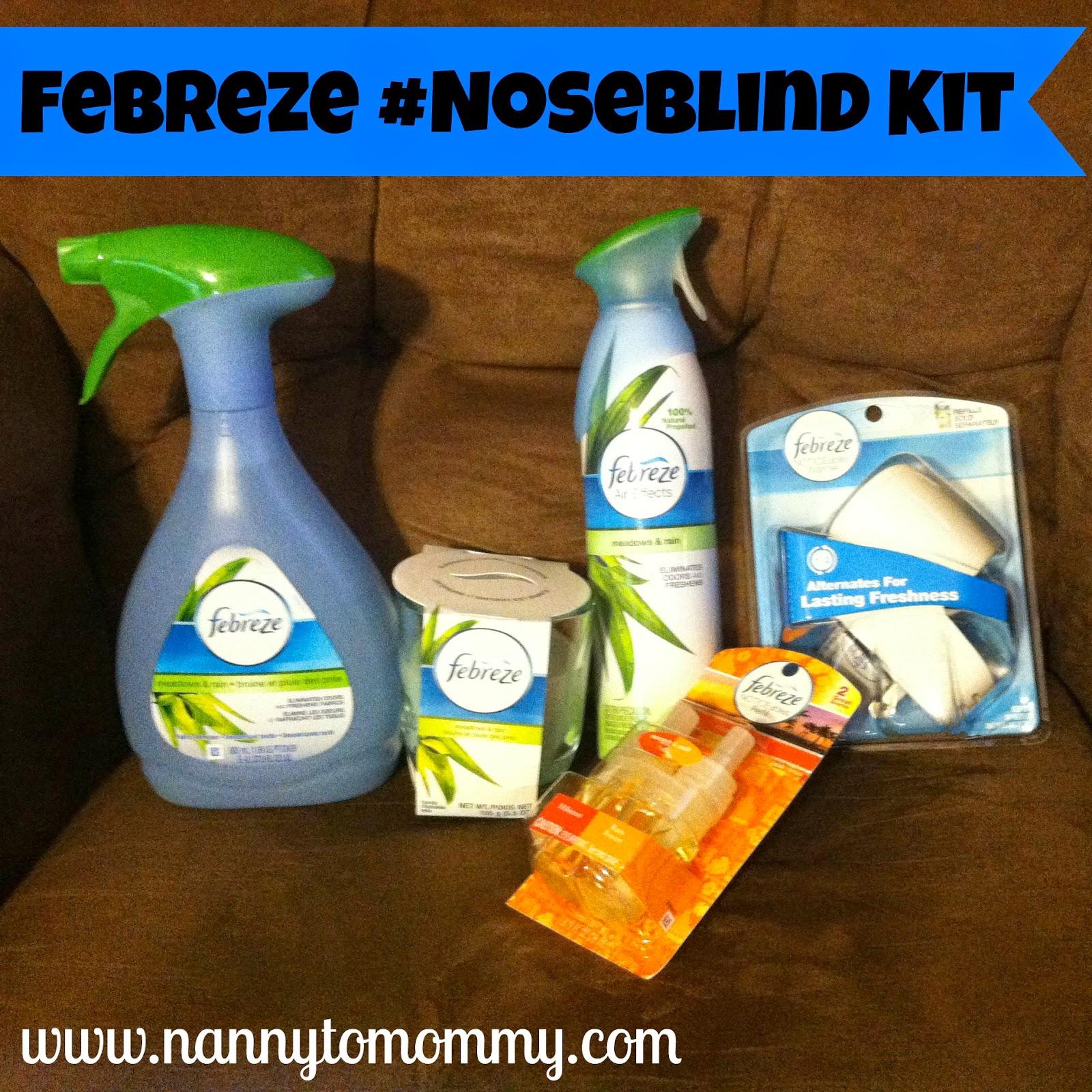 Febreze #Noseblind Kit