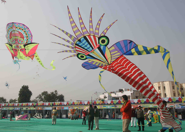 International Kite Festival, Gujarat