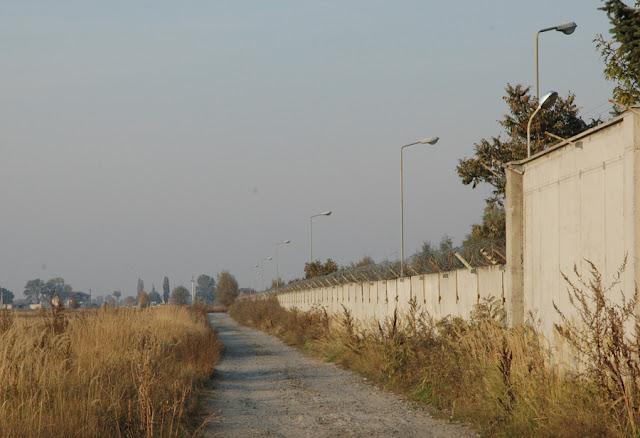 забор возле Троещины