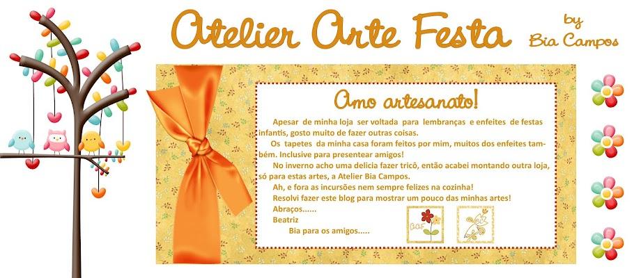 Atelier Arte Festa e Bia Campos