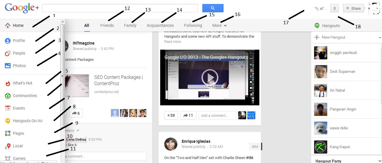 Bagaimana Cara Mendaftar Google Plus? - cara daftar google plus