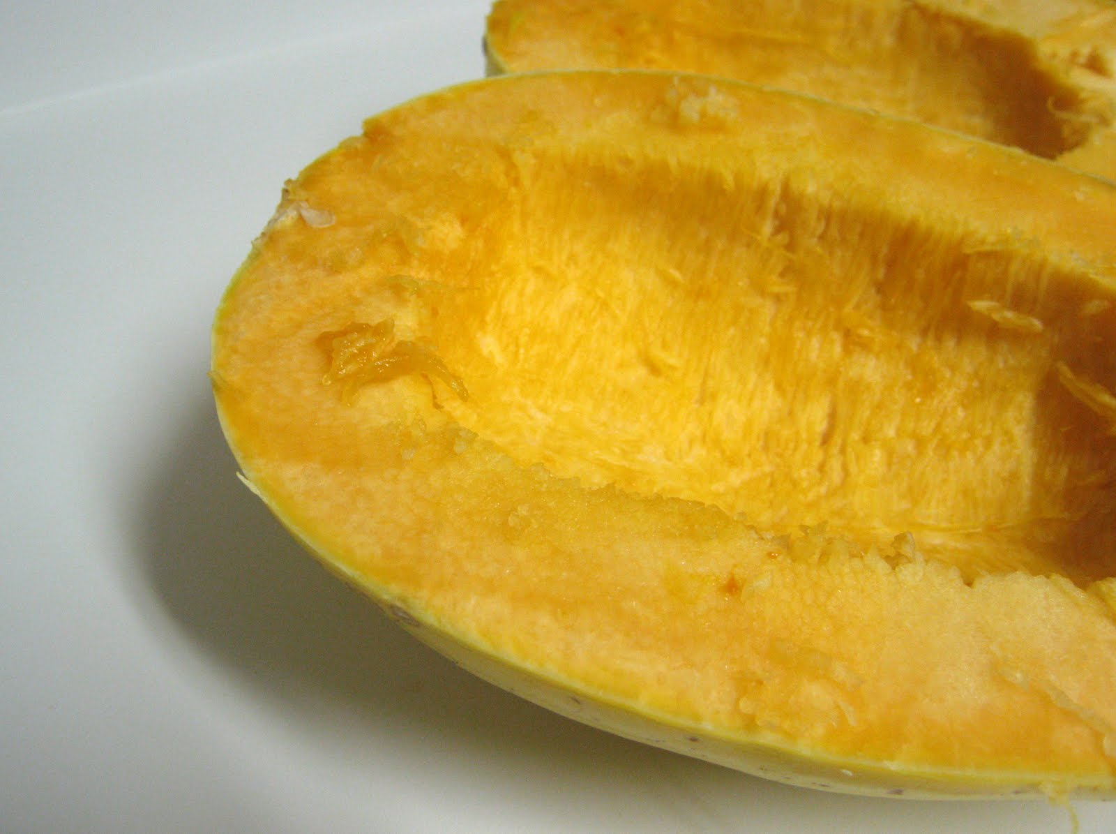 pumpkin cooked in microwave