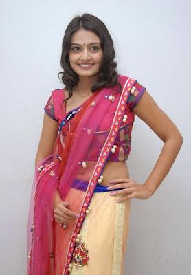 Actress Nikitha Narayan Navel Show Photos
