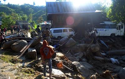 banjir kilat di Batanguru, Sulawesi Barat