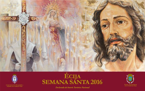 Cartel de la Semana Santa de Écija 2016