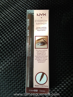 NYX Make-Up Haul Eyebrow Marker