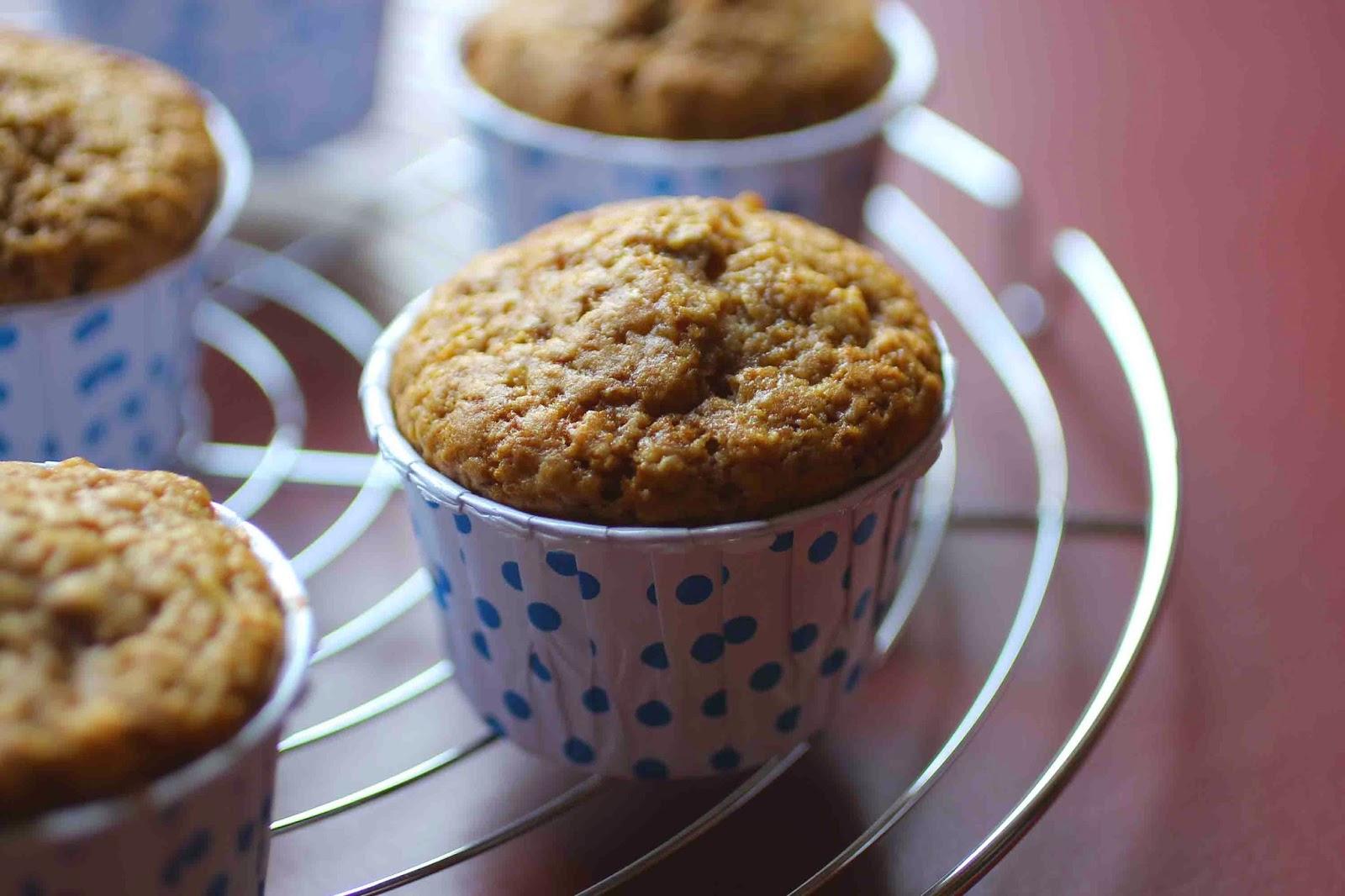 Muffins moelleux à la pomme