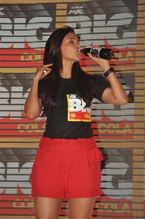 neha dhupia at the new logo launch of cola brand big cola. cute stills