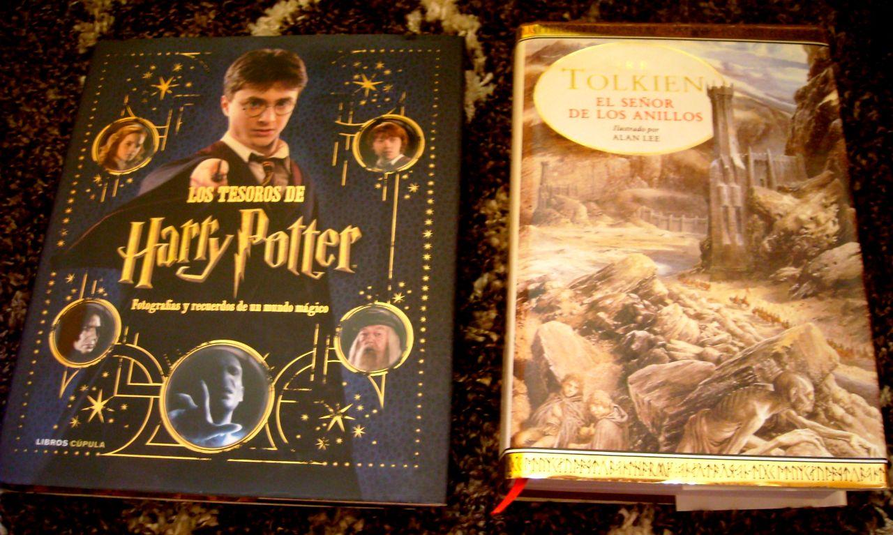 Harry Potter y El Señor de los Anillos libros