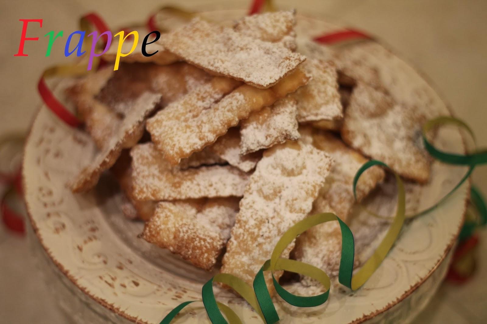 frappe - ricetta gluten free