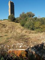 La Torre de Merola des de les tines