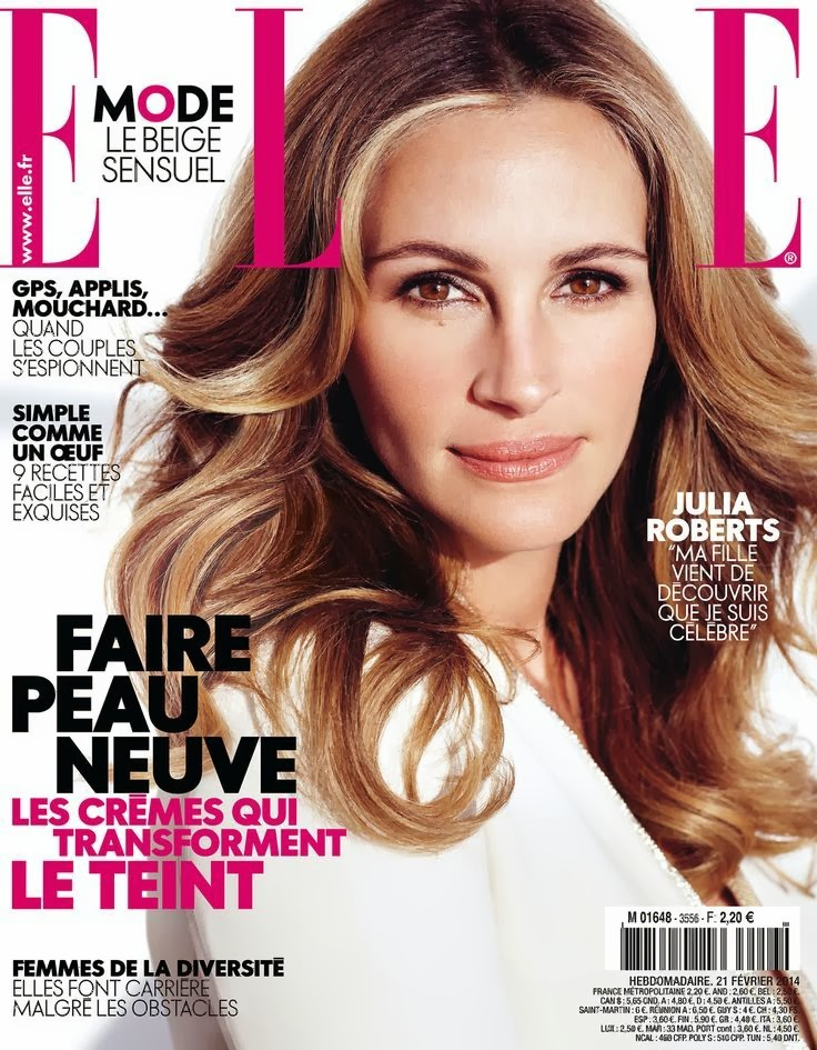 Julia Roberts HQ Pictures Elle France Ad Photoshoot February 2014