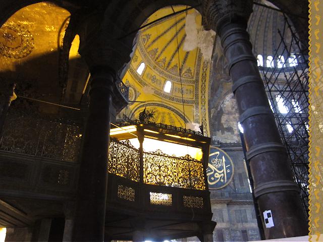El Palco del Sultán - Santa Sofia