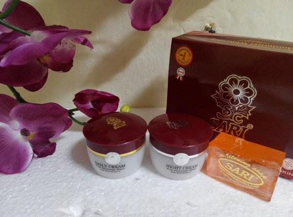 cream sari murah