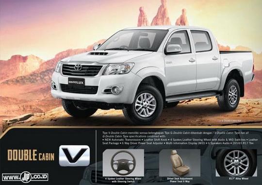 Jual Mobil Bekas, Second, Murah: Harga Toyota Hilux 2014 ...