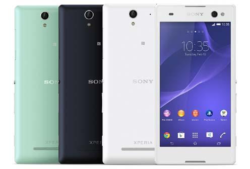 Spesifikasi dan Harga Sony Xperia C3, Ponsel Android KitKat Kamera 8 MP