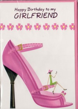 Quotes and Sayings: Birthday Card Messages For Girlfrie