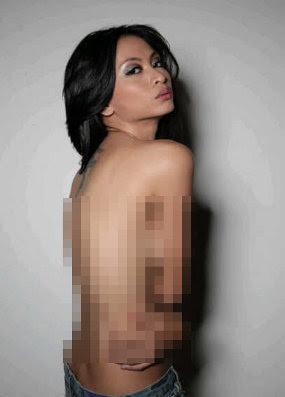 Foto Topless Beredar, Shanli 'SPICY