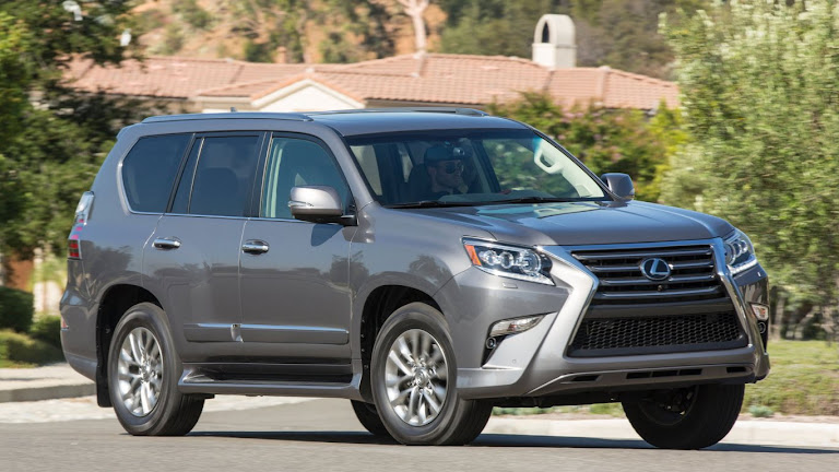 2014 Lexus GX 460 SUV HD Wallpaper 5